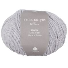 Buy Erika Knight for John Lewis Chunky Yarn, 100g, Soft Grey 31 Online at johnlewis.com