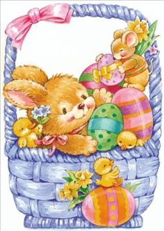 Spring, Easter - Clipart, Illustrations, Art, Gifs, Clip Art, Image Library Designs Original illustrations occasions Christmas greetings cards