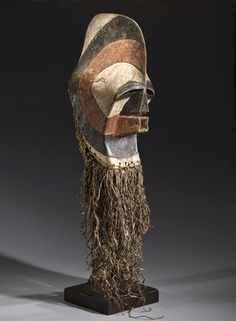 Africa | Male Kifwebe Mask from the Songye people ~ Democratic Republic of the Congo
