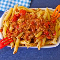 Slow Cooked Meaty Pasta Sauce