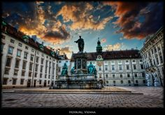 #Hofburg Palace, #Vienna, Austria  the beautiful city of Wien where Dancer Against Cancer takes place.