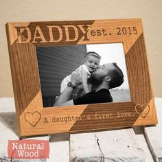 Father Birthday Gifts Dad Christmas Gift-Personalized Dad Picture Frame From by PWEGifts Diy Gifts For Dad, Diy Holiday Gifts, Personalized Christmas Gifts, Daddy Gifts, Gifts For Teens, Father Birthday Gifts, Birthday Presents For Dad, Daughter Birthday, Fathers Day Gifts