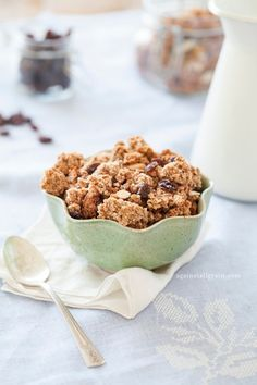 Paleo and SCD Vanilla Granola - Against All Grain