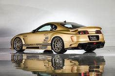 View detailed pictures that accompany our 1994 Top Secret Toyota Supra article with close-up photos of exterior and interior features. Toyota Supra Mk4, Toyota Celica, Toyota Century, Initial D, Tuner Cars, Jdm Cars, Mk1, Bane, Volvo