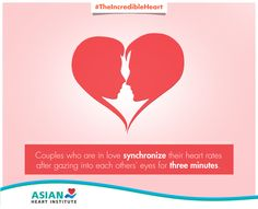 Here's what happens to your heart when you see someone you love! #TheIncredibleHeart #AsianHeartInstitute #Heart
