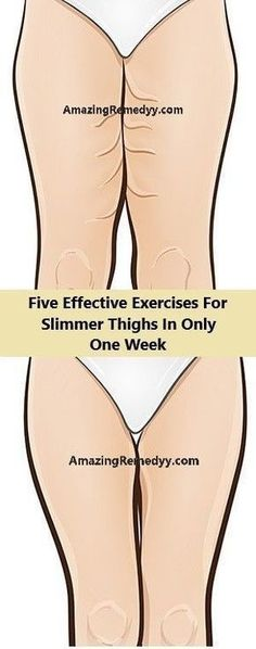 Five Effective Exercises For Slimmer Thighs In Only One Week