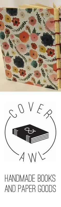 Beautiful, handmade books and paper goods by Cover and Awl are now available on Amazon Handmade.