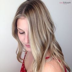 Pretty blonde balayage :: RedBloom Salon Hair Painting, Blonde Balayage, Salons, Stylists, Hair Color, Long Hair Styles, Pretty, Instagram Posts, Beauty