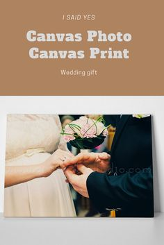 Custom Photo Canvas Print Gallery Wred Personalized Maid Of Honor Gift Christmas Wedding