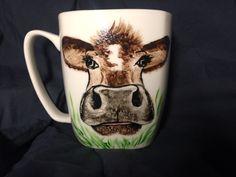 Cow I Cup, Cow, Beer, Mugs, Tableware, Handmade, Root Beer, Ale, Dinnerware