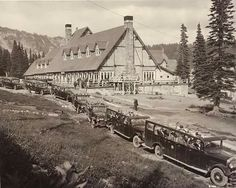 Mount Rainier Lodge, 1925