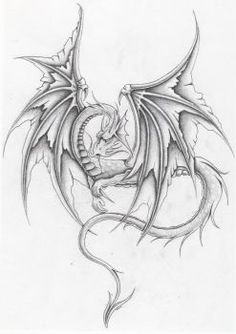 Super Tattoo Dragon Design Coloring Pages 52 Ideas Dragon Tattoo Drawing, Small Dragon Tattoos, Dragon Tattoo Designs, Wizard Drawings, Fantasy Drawings, Dragon Coloring Page, Coloring Pages, Dragon Silhouette, Pixel Drawing