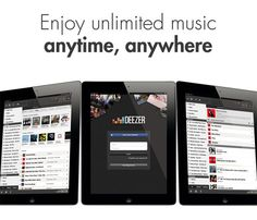 Deezer Challenges Spotify With Offline Downloadable Music On iPad