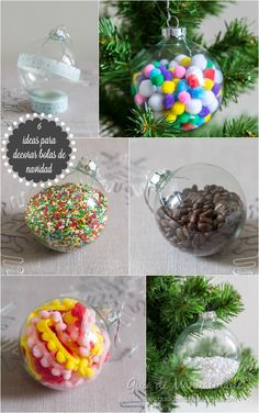 6 ideas para decorar bolas de navidad