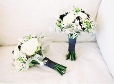 REVEL: Black White Bouquets