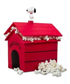 Another great find on #zulily! Peanuts Snoopy's Dog House Popcorn Microwave #zulilyfinds
