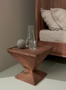 CRu0026S Riva 1920 Caramella Table   Bedside Table In Solid Wood Cut From A  Section Of The Trunk.