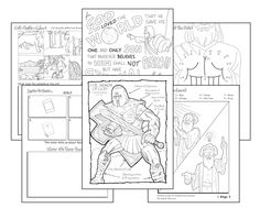 The story of nehemiah rebuilding the wall of jerusalem for Nehemiah coloring page
