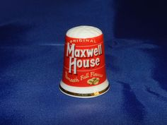 Original Maxwell House Smooth, Full Flavor - Advertising Premium - Porcelain