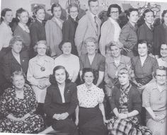 Mullen school teachers incl. Miss Mullen 1955.