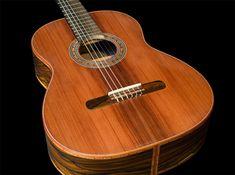 Ziricote B&S, Sinker Redwood top Concert Classical Guitar