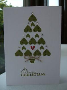 StampersPlus.com » Blog Archive » Hearts Christmas Tree