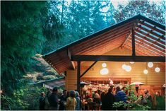 The Pond Room is TreeHouse Point's perfect setting for receptions