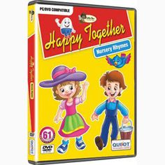 Happy Together Rhymes — Heart-warming nursery rhymes to make children smile and to provide a foundation for cultural literacy and enhance early reading skills and phonemic awareness. Activities to consolidate the rhyme and its language. Ideal for gifting to younger children.