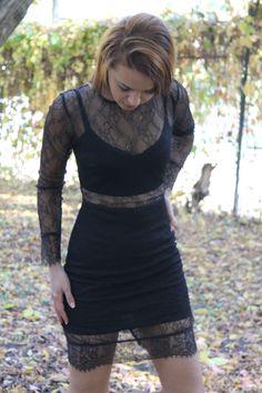 Black dress.   Shop now: http://www.womanfashion.ro/rochii-online/rochie-neagra-pentru-ocazii-speciale-4156