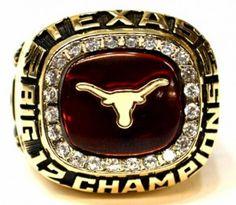Lonoghorn Big 12 rings stolen, DKR, University of Texas