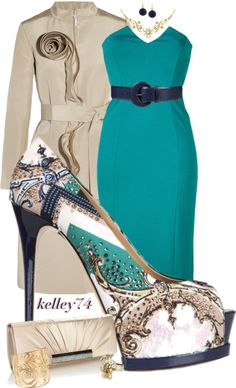"""Can't Out Do the Shoe!"" by kelley74 on Polyvore"