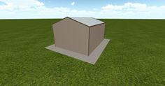 3D #architecture via @themuellerinc http://ift.tt/2e5xsQF #barn #workshop #greenhouse #garage #DIY