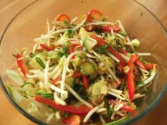 Bean Sprouts and Shredded Veggies!
