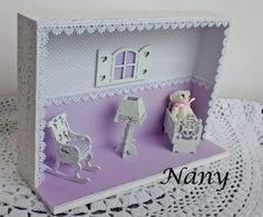 Quadrinho decorativo para quarto de bebê.
