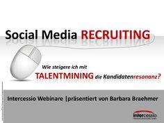Durch TALENTMINING die Kandidatenresonanz steigern  #SocialRecruiting #talentmining #iitalent
