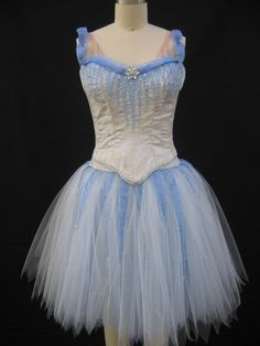 Ice and wind faerie for Turning Pointe Ballet, Ballet tutu