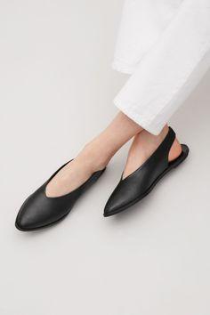 COS image 2 of Slingback sandals in Black
