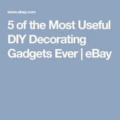 5 of the Most Useful DIY Decorating Gadgets Ever | eBay