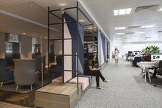 Edelman Offices by Gensler. London.