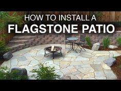 How To Install A Flagstone Patio Step Step Examplary. How To Install A Flagstone Patio With Irregular Stones Diy Fine. Patio Diy, Patio Pergola, Patio Steps, Pergola Plans, Patio Wall, Wooden Pergola, Pergola Kits, Pergola Ideas, Patio Fence