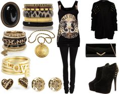 """""""Sydney's Club Outfit :)"""" by jaymee-smith on Polyvore"""