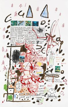 JEAN-MICHEL BASQUIAT 1960 - 1988 UNTITLEDJEAN MICHEL BASQUIAT More Pins Like This At FOSTERGINGER @ Pinterest