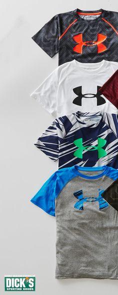Check out all the best Under Armour tees for back to school.