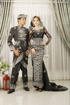black songket