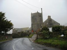 :: St Merryn Church, near to St Merryn, Cornwall, Great Britain by SMJ Cornwall Map, Cornwall England, Celtic Nations, Seaside Village, Place Of Worship, British Isles, Great Britain, Ireland, Saints
