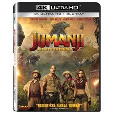 Blu-ray Jumanji: Vítejte v džungli!, Jumanji: Welcome to the Jungle, UHD + BD, CZ dabing Teen Shows, Jumanji, Karen Gillan, Kevin Hart, Jungles, Dwayne Johnson, Jack Black, Sci Fi Fantasy, Blues