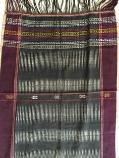 E195 Antique Batak Ulos Shoulder Cloth From WOVENSOULS The Art & Antique Gallery - HTTP://wovensouls.com - #antique #textileart #antiquetextiles #asianart #vintagetextiles #folkart #artgallery #decor #interiors #interiordecor #interiordesigner #antiquestore #gallery