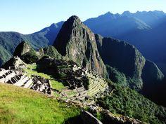 Sunrise over Machu Picchu; dream come true.