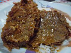 LAGARTO ASSADO NA PANELA DE PRESSÃO - Receitas Culinárias