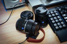 sony lens style camera QX1